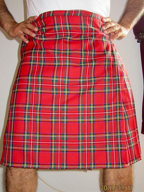 Red Royal Stewart Tartan Plaid Kilt~Highland Games Plaid Kilt~Plus Size Kilts