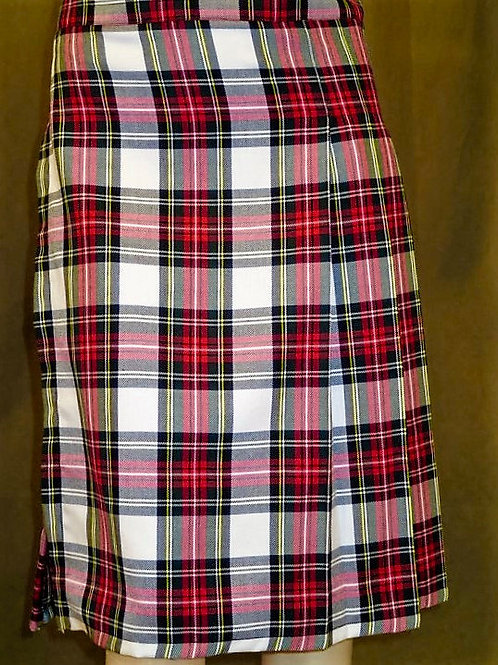 Dress Stewart Plaid Ladies Kilt~  Concert  & Highland Games Wear