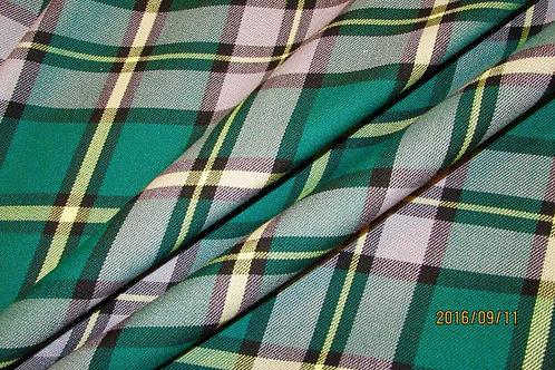 Men's Cape Breton Custom Made Kilt~St,Patrick DayGreen Plaid Kilt~Plus S