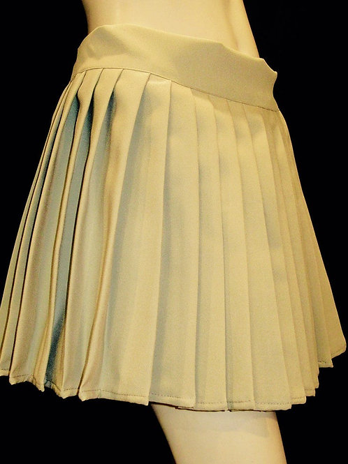 Khaki Pleated Skirt~Custom Made School Khaki School Gril