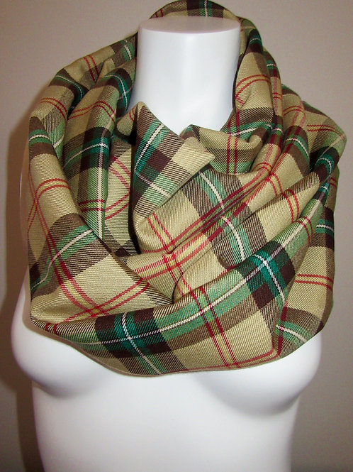 Sask. Plaid Scarf