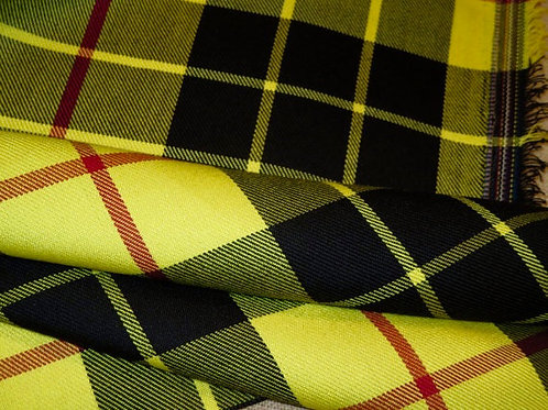 MacLeod of Lewis Tartan Plaid Fabric~