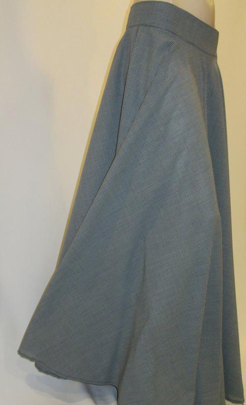 Gingham Maxi Skirt-Maxi Skirts Long-Maxi Skirt with Pocket Maxi ...