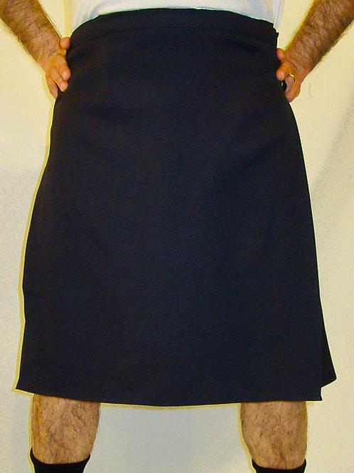 Men's Dark Navy Kilt -Custom Made Highland Games Plaid Kilts~Plus Size kilts