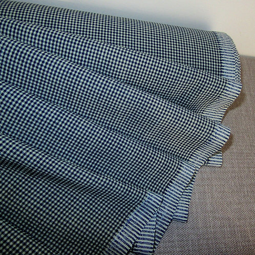 Checkered Fabric~B/W Gingham ~ Pre Cut yards