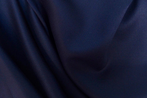 Pure Wool Dark Navy Fabric By Yard~Sewing Interior Decorate Navy Fabric~