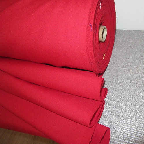 Candy Apple Red  Plain Fabric~ Fashion Wear