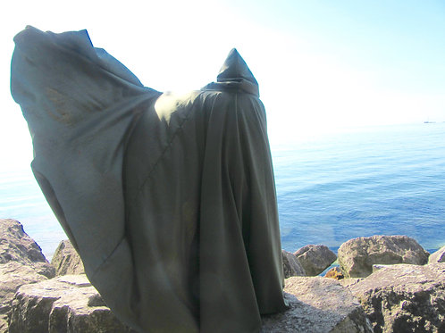 Dr. Doom Cosplay Cloak~ Wool Blend Cloak~ Full Circle Cloak
