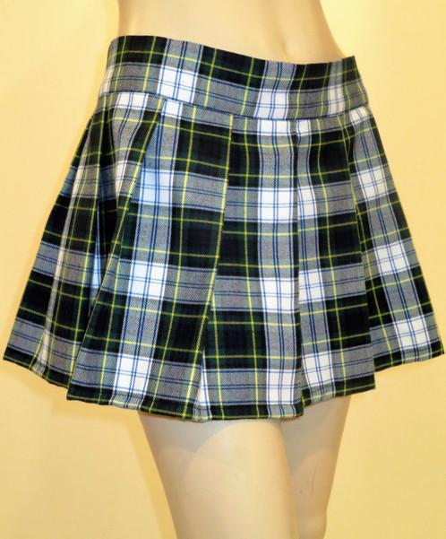 Dress Gordon Pleated Plaid Mini Skirt | Mini Skirts - Custom Hand Made