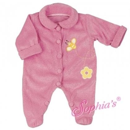 Pink Bumblebee Terry Doll Sleeper