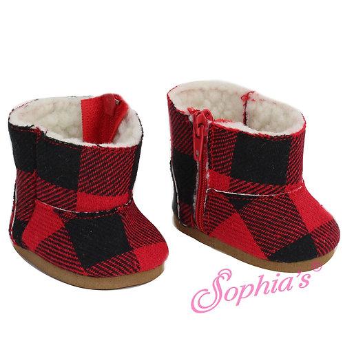 Buffalo Check Boots