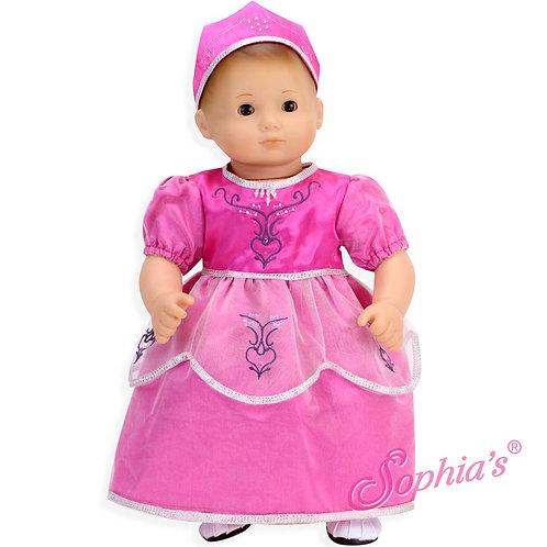 Hot Pink Princess Dress & Crown
