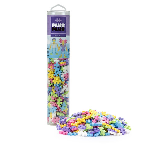 Plus Plus Tube- 240pc Pastel