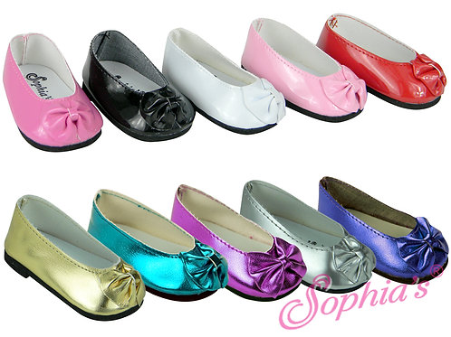 Patent Bow Shoes
