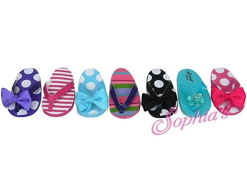 Patterned Flip Flops