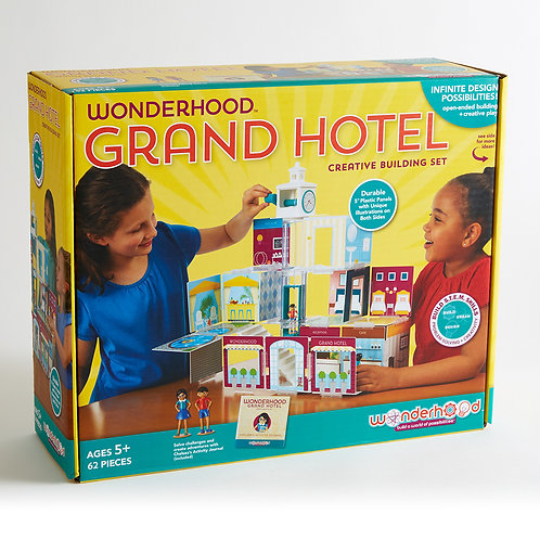Wonderhood Grand Hotel Creative Building Set