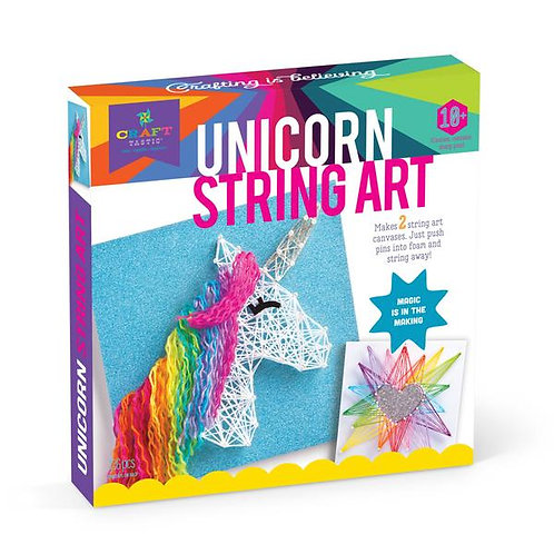 Craft-tastic Unicorn String Art