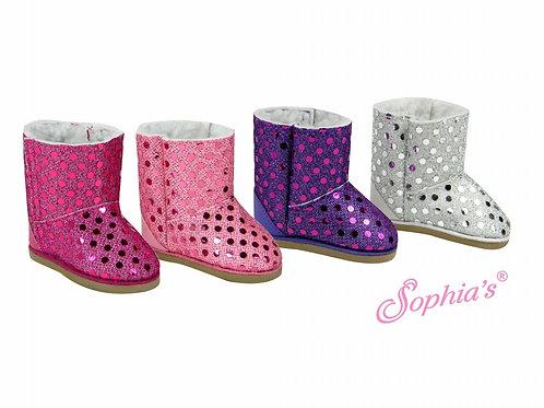 Sequin Ewe Boots