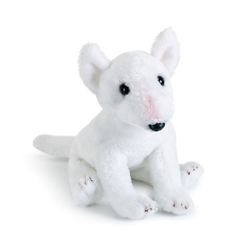 White Bull Terrier Plush