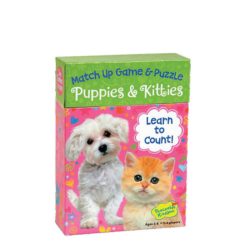 Puppies & Kitties Match Up Game