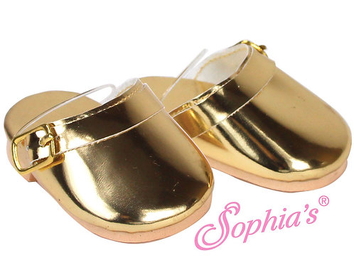 Gold Metallic Clog