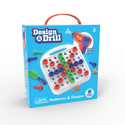 Design & Drill: Patterns & Shapes