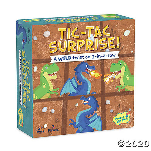 Tic Tac Surprise!- Dinosaurs and Dragons