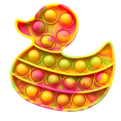 Tie-Dye Duck Pop Fidget
