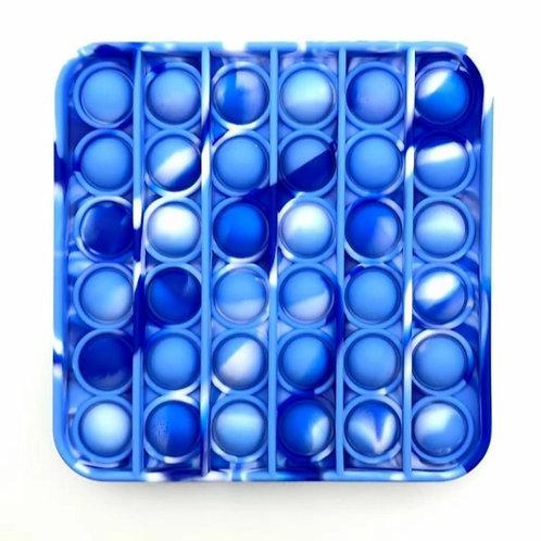 Hampton Blue Tie Dye Square Pop It