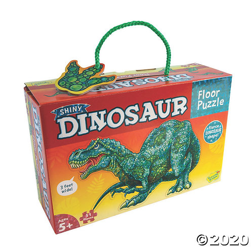 Shiny Dinosaur Floor Puzzle
