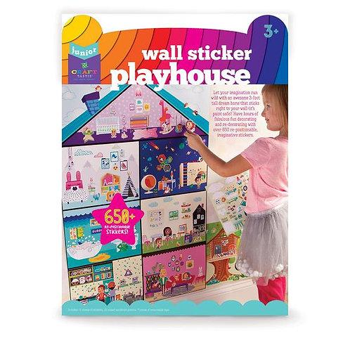 Craft-tastic Jr. Wall Sticker Playhouse