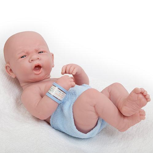 La Newborn Yawning Boy