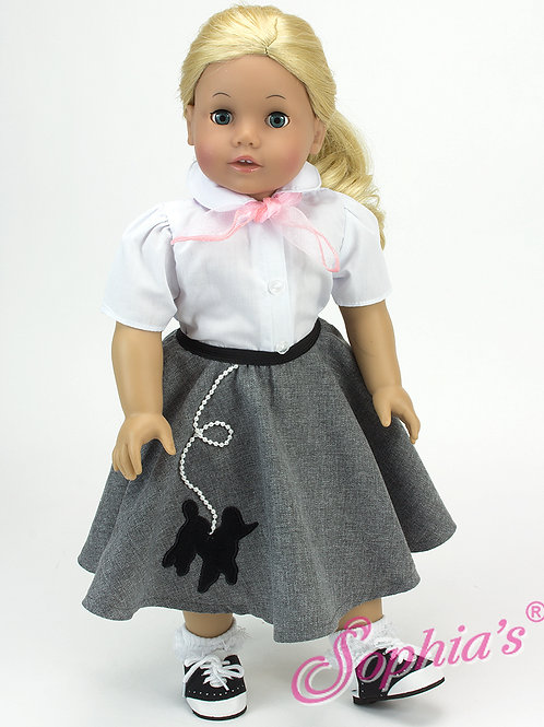 Poodle Skirt Outfit