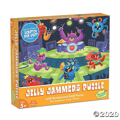 Jelly Jammers Scented Puzzle