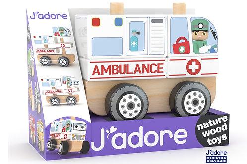 Ambulance Stacking Car