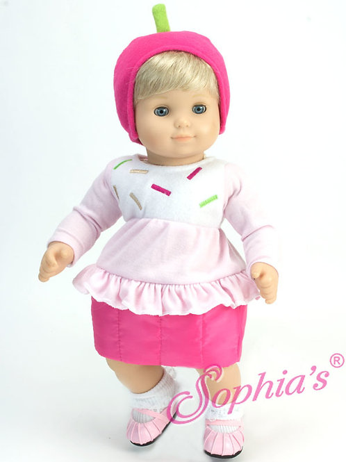 Baby Doll Sprinkled Cupcake Costume