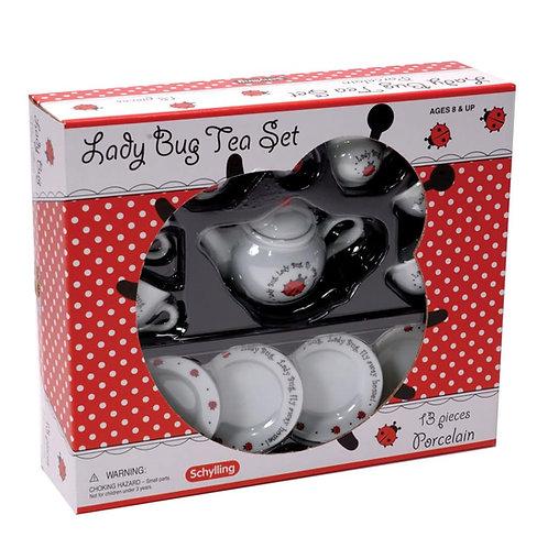 Lady Bug Tea Set
