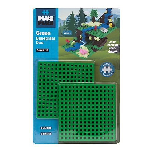 Baseplate Duo- Green