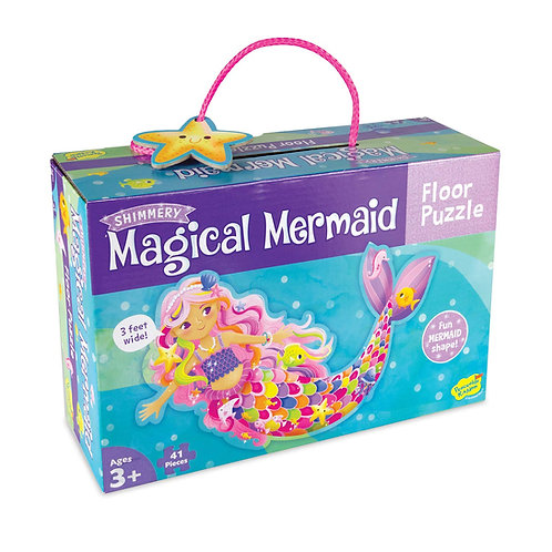 Magical Mermaid Floor Puzzle- 41 pieces