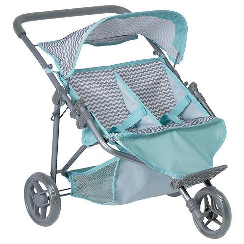 Zig Zag Twin Jogger Stroller
