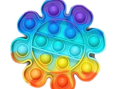 Rainbow Flower Pop Fidget