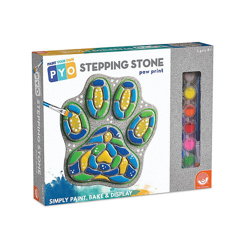 Paint Your Own Stepping Stone: Paw Print
