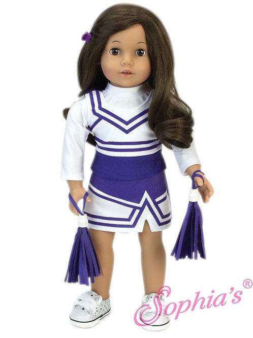 Purple Cheerleader Outfit