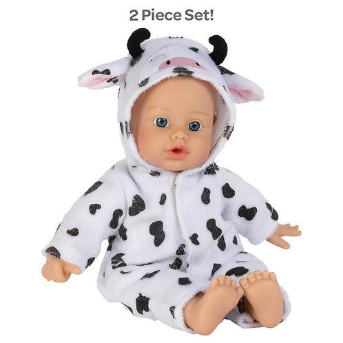 Funsie Onesie Baby Cow