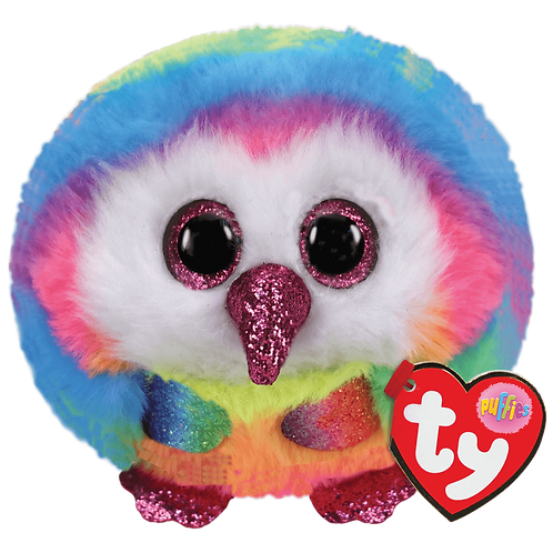 Multi-color Owl- Owen