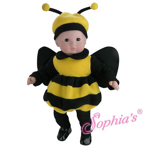 Baby Doll Bubble Bee Costume & Antenna Hat