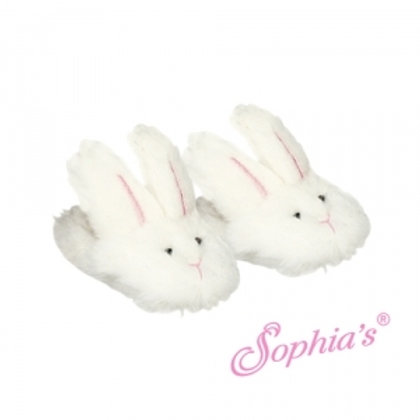 White Bunny Slippers