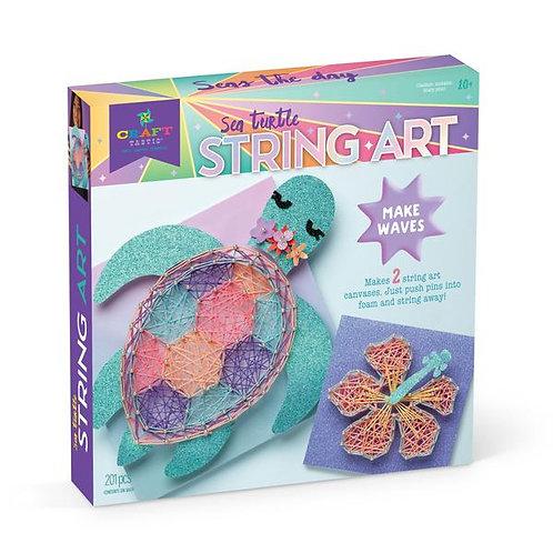 Craft-tastic Sea Turtle String Art