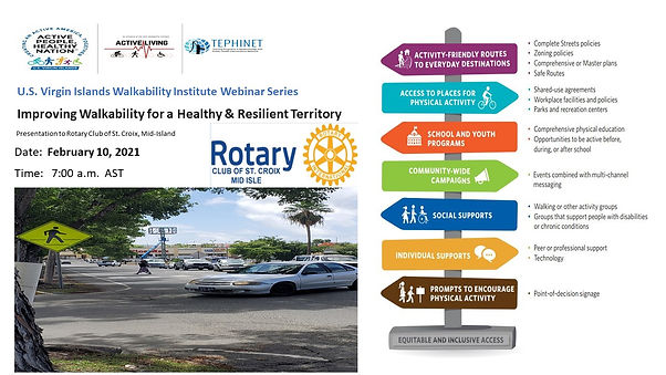 Mini Webinar flyer STX Rotary Mid-Island