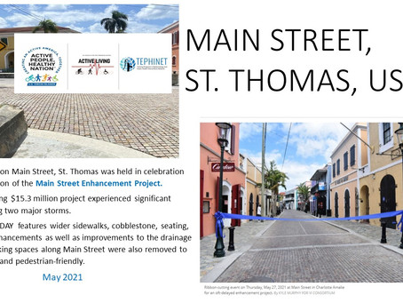 An Example of Walkability in the US Virgin Islands